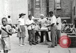 Image of African American children in Harlem New York City USA, 1935, second 26 stock footage video 65675063279