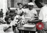 Image of African American children in Harlem New York City USA, 1935, second 31 stock footage video 65675063279