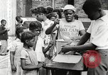 Image of African American children in Harlem New York City USA, 1935, second 33 stock footage video 65675063279