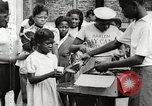 Image of African American children in Harlem New York City USA, 1935, second 46 stock footage video 65675063279