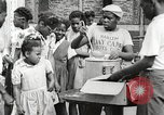 Image of African American children in Harlem New York City USA, 1935, second 49 stock footage video 65675063279