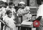 Image of African American children in Harlem New York City USA, 1935, second 51 stock footage video 65675063279