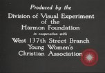 Image of YWCA programs for African American women in 1940 New York City USA, 1940, second 12 stock footage video 65675063280