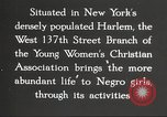 Image of YWCA programs for African American women in 1940 New York City USA, 1940, second 21 stock footage video 65675063280