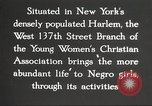 Image of YWCA programs for African American women in 1940 New York City USA, 1940, second 22 stock footage video 65675063280