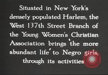Image of YWCA programs for African American women in 1940 New York City USA, 1940, second 24 stock footage video 65675063280