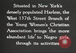 Image of YWCA programs for African American women in 1940 New York City USA, 1940, second 26 stock footage video 65675063280