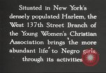 Image of YWCA programs for African American women in 1940 New York City USA, 1940, second 27 stock footage video 65675063280