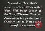 Image of YWCA programs for African American women in 1940 New York City USA, 1940, second 28 stock footage video 65675063280