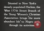 Image of YWCA programs for African American women in 1940 New York City USA, 1940, second 30 stock footage video 65675063280