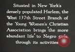 Image of YWCA programs for African American women in 1940 New York City USA, 1940, second 31 stock footage video 65675063280