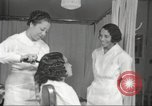 Image of Beauty parlor for African American women in Harlem New York City USA, 1940, second 60 stock footage video 65675063284