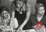 Image of Young Women's Christian Association Harlem New York City USA, 1940, second 22 stock footage video 65675063294