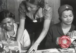 Image of Young Women's Christian Association Harlem New York City USA, 1940, second 23 stock footage video 65675063294
