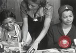 Image of Young Women's Christian Association Harlem New York City USA, 1940, second 24 stock footage video 65675063294