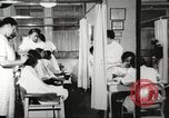 Image of Young Women's Christian Association beauty parlor Harlem New York City USA, 1940, second 3 stock footage video 65675063300
