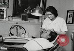 Image of Young Women's Christian Association beauty parlor Harlem New York City USA, 1940, second 35 stock footage video 65675063300