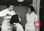 Image of Young Women's Christian Association beauty parlor Harlem New York City USA, 1940, second 53 stock footage video 65675063300