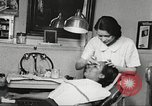 Image of Young Women's Christian Association beauty parlor Harlem New York City USA, 1940, second 55 stock footage video 65675063300