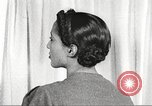 Image of Young Women's Christian Association beauty parlor Harlem New York City USA, 1940, second 61 stock footage video 65675063300