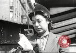 Image of YMCA building with view of streets Harlem New York City USA, 1940, second 17 stock footage video 65675063319