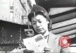 Image of YMCA building with view of streets Harlem New York City USA, 1940, second 18 stock footage video 65675063319
