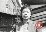 Image of YMCA building with view of streets Harlem New York City USA, 1940, second 23 stock footage video 65675063319