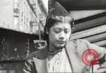 Image of YMCA building with view of streets Harlem New York City USA, 1940, second 25 stock footage video 65675063319