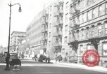 Image of YMCA building with view of streets Harlem New York City USA, 1940, second 52 stock footage video 65675063319