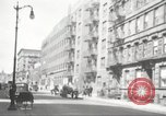 Image of YMCA building with view of streets Harlem New York City USA, 1940, second 54 stock footage video 65675063319
