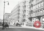 Image of YMCA building with view of streets Harlem New York City USA, 1940, second 56 stock footage video 65675063319