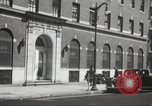 Image of YMCA building with view of streets Harlem New York City USA, 1940, second 60 stock footage video 65675063319