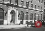Image of YMCA building with view of streets Harlem New York City USA, 1940, second 62 stock footage video 65675063319