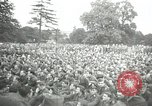 Image of Major Glenn Miller and his Army Air Forces Band High Wycombe England United Kingdom, 1944, second 1 stock footage video 65675063322