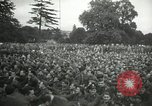 Image of Major Glenn Miller and his Army Air Forces Band High Wycombe England United Kingdom, 1944, second 3 stock footage video 65675063322