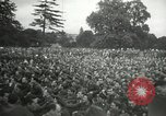 Image of Major Glenn Miller and his Army Air Forces Band High Wycombe England United Kingdom, 1944, second 7 stock footage video 65675063322