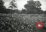 Image of Major Glenn Miller and his Army Air Forces Band High Wycombe England United Kingdom, 1944, second 8 stock footage video 65675063322