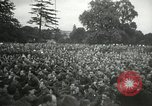 Image of Major Glenn Miller and his Army Air Forces Band High Wycombe England United Kingdom, 1944, second 9 stock footage video 65675063322