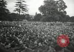 Image of Major Glenn Miller and his Army Air Forces Band High Wycombe England United Kingdom, 1944, second 14 stock footage video 65675063322