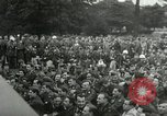 Image of Major Glenn Miller and his Army Air Forces Band High Wycombe England United Kingdom, 1944, second 25 stock footage video 65675063322