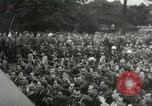 Image of Major Glenn Miller and his Army Air Forces Band High Wycombe England United Kingdom, 1944, second 26 stock footage video 65675063322