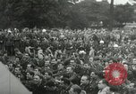 Image of Major Glenn Miller and his Army Air Forces Band High Wycombe England United Kingdom, 1944, second 29 stock footage video 65675063322