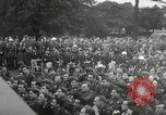 Image of Major Glenn Miller and his Army Air Forces Band High Wycombe England United Kingdom, 1944, second 32 stock footage video 65675063322