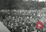 Image of Major Glenn Miller and his Army Air Forces Band High Wycombe England United Kingdom, 1944, second 34 stock footage video 65675063322