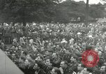 Image of Major Glenn Miller and his Army Air Forces Band High Wycombe England United Kingdom, 1944, second 39 stock footage video 65675063322