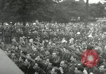 Image of Major Glenn Miller and his Army Air Forces Band High Wycombe England United Kingdom, 1944, second 40 stock footage video 65675063322