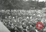 Image of Major Glenn Miller and his Army Air Forces Band High Wycombe England United Kingdom, 1944, second 43 stock footage video 65675063322