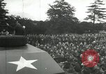 Image of 8th Air Force War Bond rally High Wycombe England United Kingdom, 1944, second 6 stock footage video 65675063323