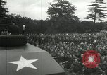 Image of 8th Air Force War Bond rally High Wycombe England United Kingdom, 1944, second 9 stock footage video 65675063323