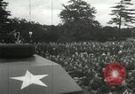 Image of 8th Air Force War Bond rally High Wycombe England United Kingdom, 1944, second 16 stock footage video 65675063323